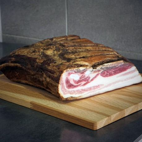 Poitrine de Porc fumée Bio tranchée