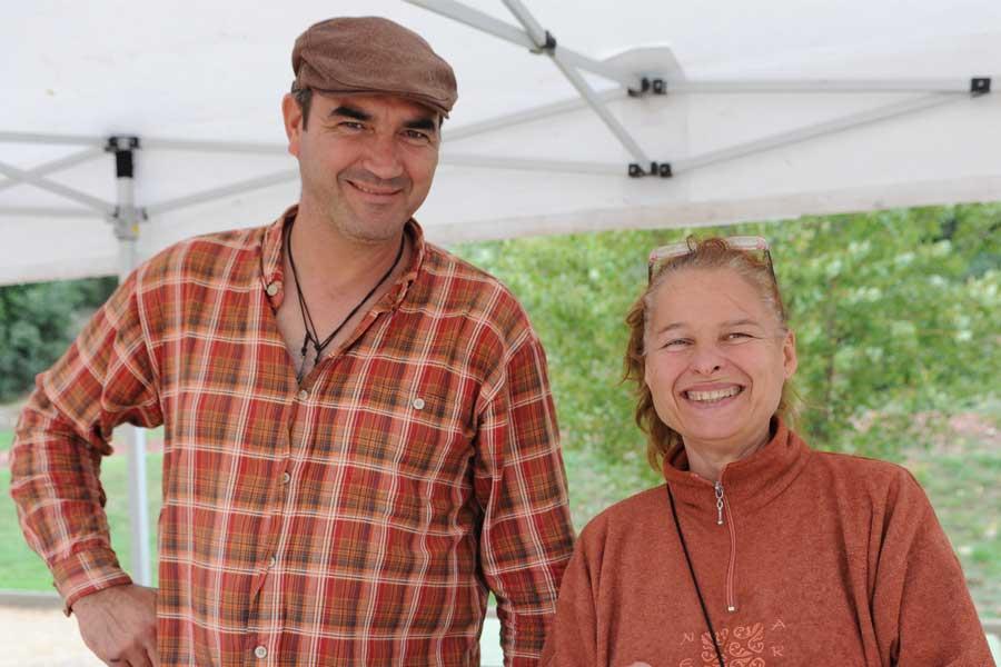 Christophe et Nelly Brodu, éleveurs de chevreau bio